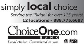 Choice One Bank Ad