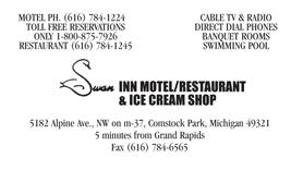 Swan Inn Ad