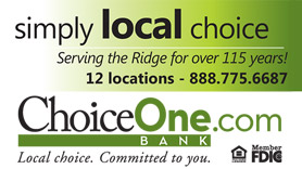 Choice One Bank Ad