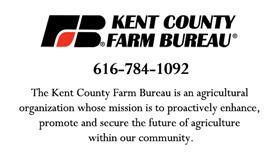 Kent County Farm Bureau ad